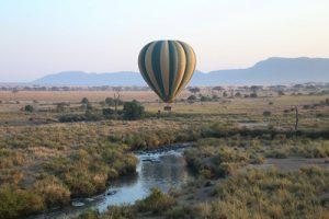 hot air balloon safari tanzania africa